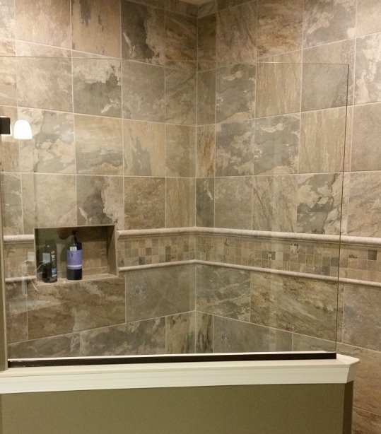 Custom Tile Shower Design | Hagerstown, MD